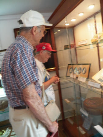 Sewing exhibit- Phil & Loretta Rowland